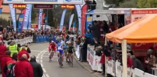 Marc Sarreau premier vainqueur de l'Etoile de Bessèges
