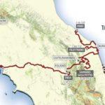 Parcours de Tirreno-Adriatico 2018
