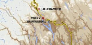 Le Tour de Norvège 2018 parcours