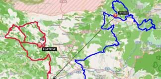 Tour du Haut-Var 2018 parcours des deux étapes