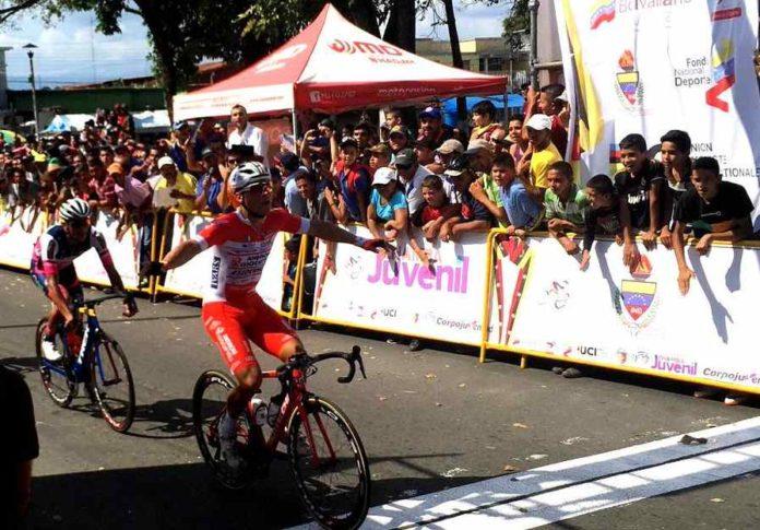 Vuelta al Tachira stage 1 Matteo Malucelli