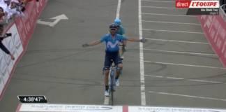 Alejandro Valverde gagne la dernière étape