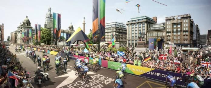 championnats d'Europe Glasgow 2018, les parcours sont dévoilés