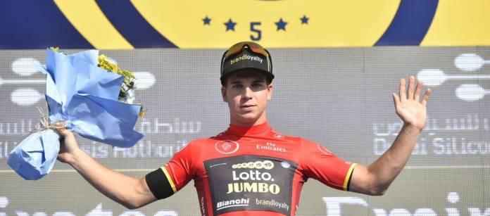 Dylan Groenewegen vise la victoire d'étape