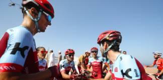 Team Katusha - Alpecin en difficulté