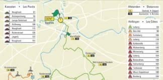 Omloop Het Nieuwsblad 2018 parcours carte