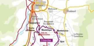 Drôme classic parcours carte de la course