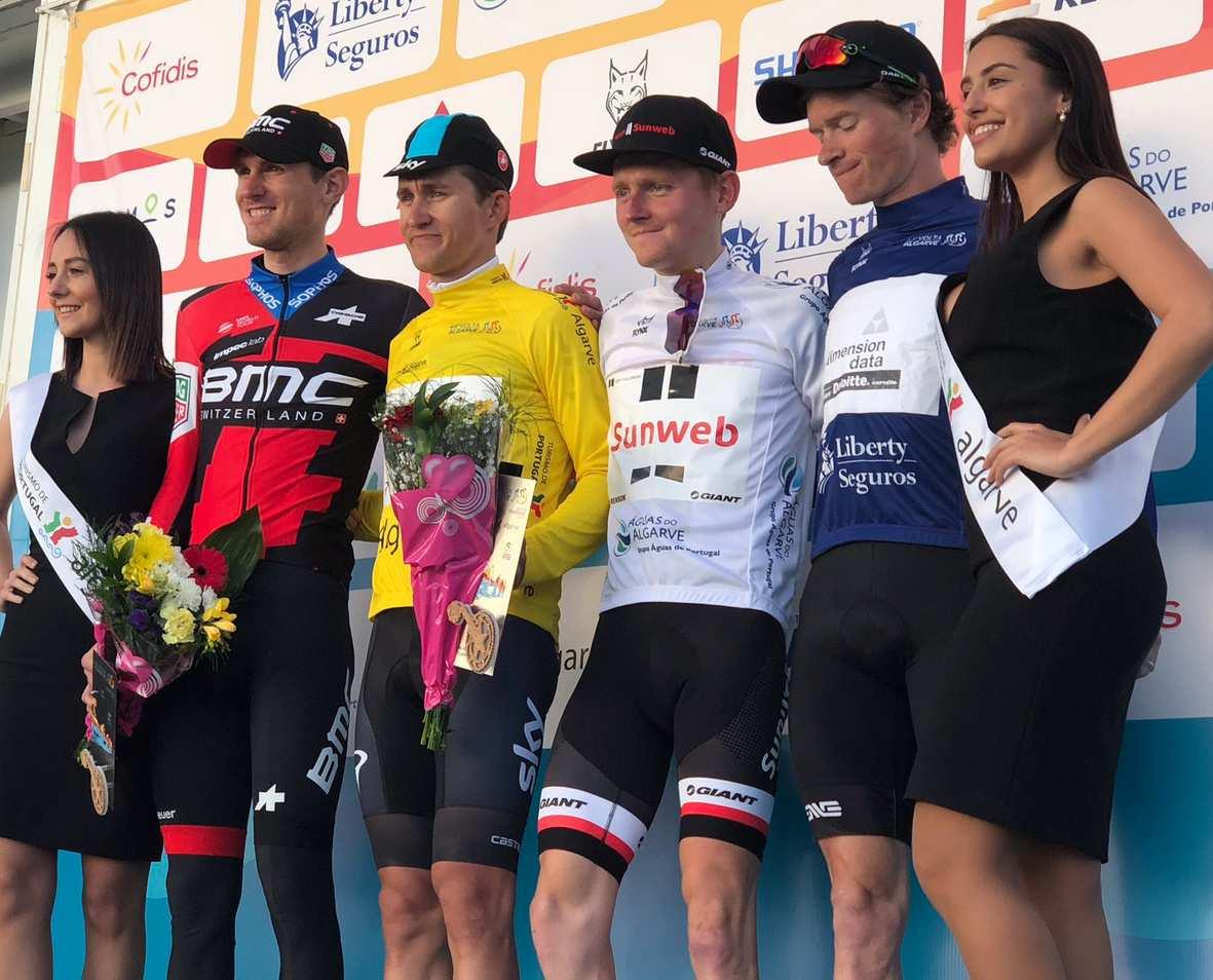 Michal Kwiatkowski (Team Sky) remporte le Tour d'Algarve 2018