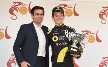 Tour d'Andalousie 2018 Thomas Boudat étape 1