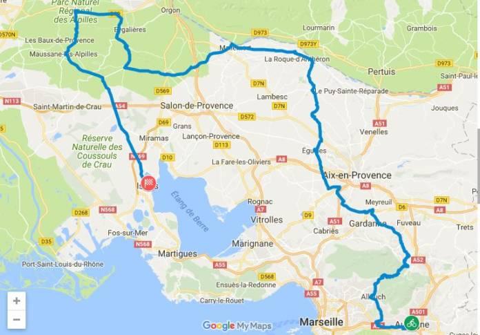 Tour de la Provence 2018 étape 1