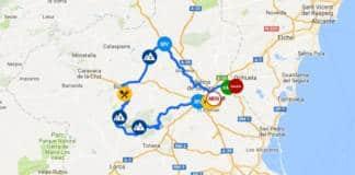 Tour de Murcie 2018 présentation du parcours