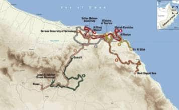 Tour d'Oman 2018 carte et parcours de la 9e édition