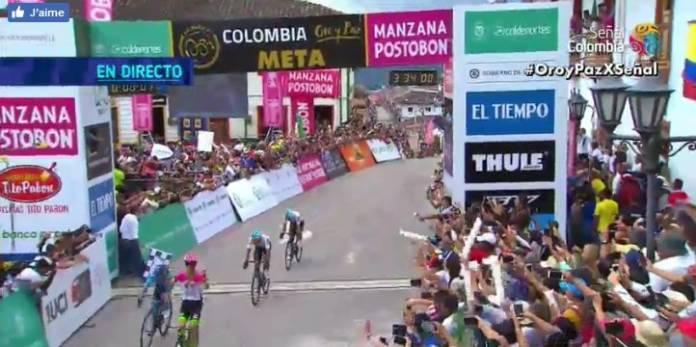 Rigoberto Uran, première victoire en 2018