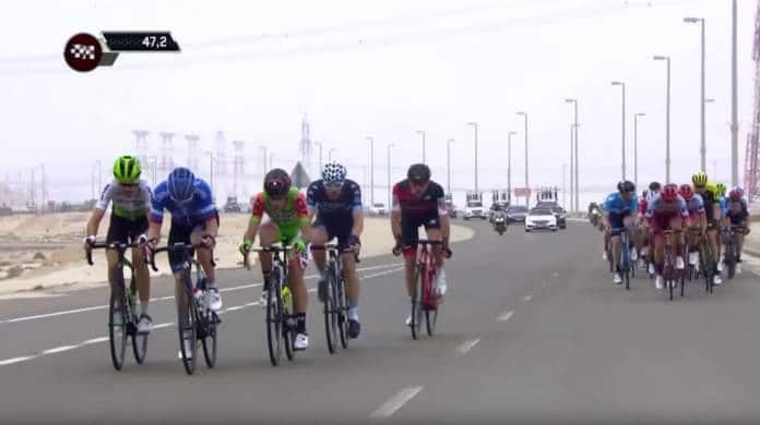 Tour d'Abu Dhabi vidéo étape 2 2018