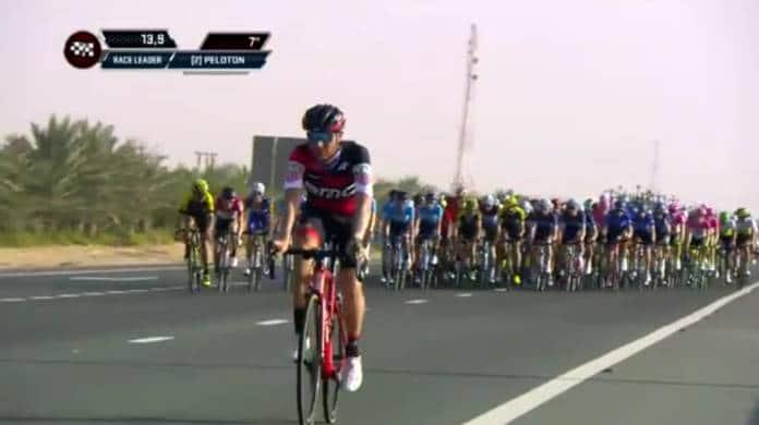 Tour d'Abu Dhabi 2018 vidéo étape 1