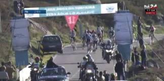 Tour d'Algarve 2018 vidéo deuxième étape