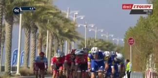 Tour de Dubai 2018 vidéo de la première étape