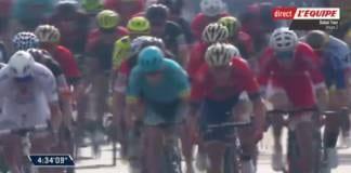 Tour de Dubai 2018 vidéo de la deuxième étape