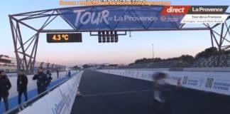 Tour de Provence 2018 vidéo du prologue