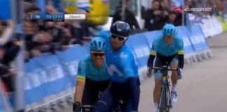 Tour de Valence 2018 Etape 2 Valverde l'emporte
