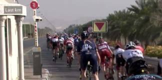 Tour d'Oman 2018 vidéo étape 1