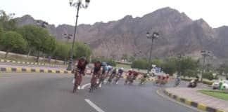 Tour d'Oman 2017 vidéo de la deuxième étape