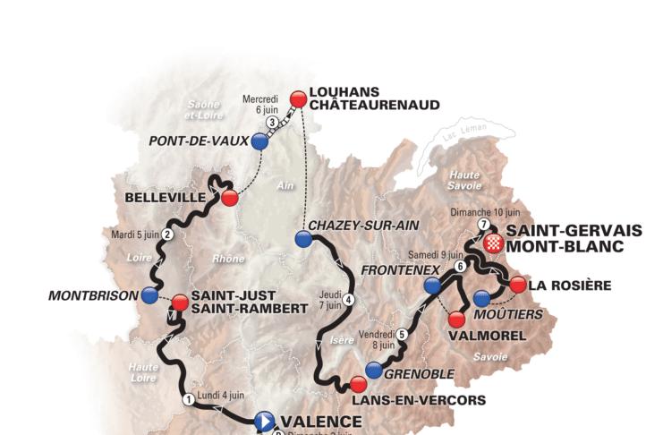 Critérium du Dauphiné 2018 révélé
