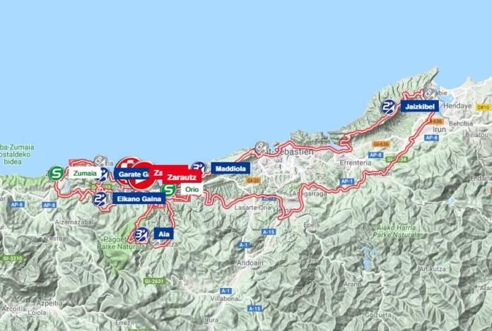 Tour du Pays Basque 2018 parcours étape 1