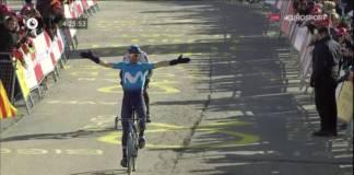 Alejandro Valverde leader au général en Catalogne