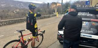 Angelo Tulik quitte Paris-Nice