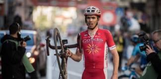 Christophe Laporte leader de Cofidis au Ronde