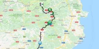 Parcours étape 3 Tour de Catalogne 2018.