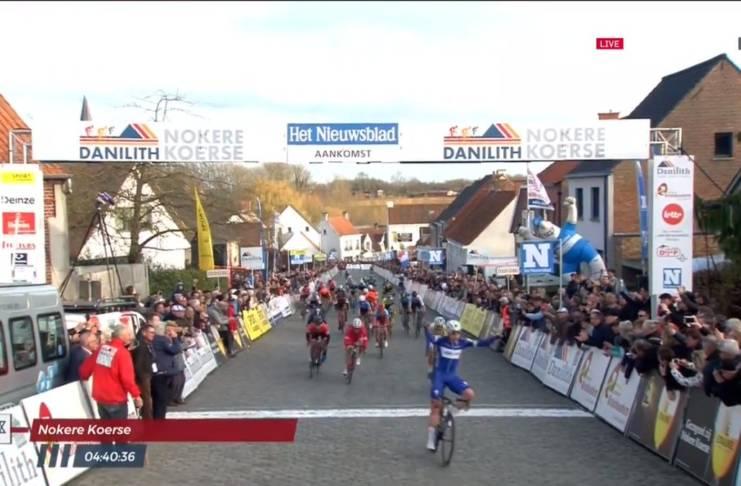 Fabio Jakobsen vainqueur de sa 1ère course pro