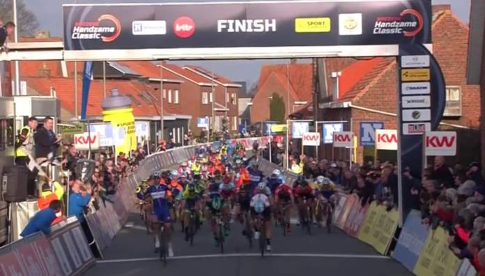 Alvaro José Hodeg vainqueur de sa 1ère course sur la Handzame Classic