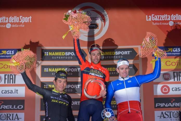 Vincenzo Nibali vainqueur de Milan-San Remo 2018