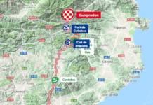 Parcours modifié 3e étape Tour de Catalogne