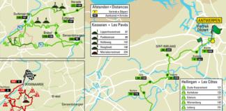 Tour des Flandres parcours 2018