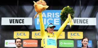 Paris-Nice 2018 classement général à l'issue de l'étape 6