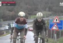Strade Bianche 2018 Romain Bardet Tiesj Benoot video