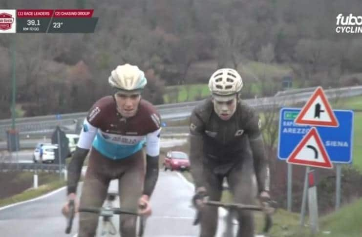Strade Bianche 2018 Romain Bardet Tiesj Benoot video