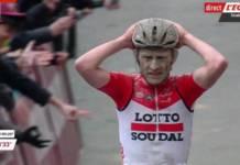 Tiesj Benoot au départ de Tirreno-Adriatico