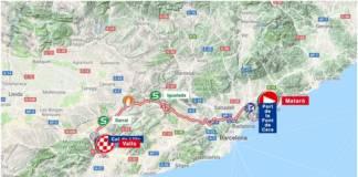 Tour de Catalogne 2018 étape 2 parcours