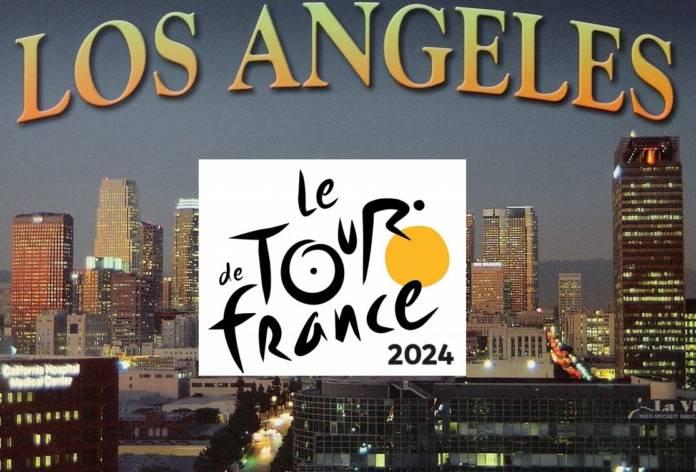 Le Tour de France 2024 partira de Los Angeles !!!