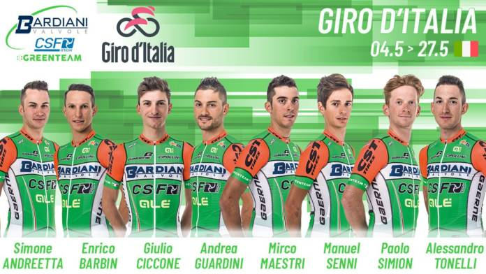 Bardiani-CSF Tour d'Italie 2018