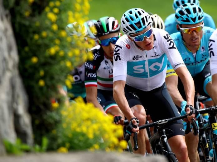 Chris Froome favori du Giro 2018