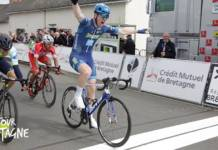 Herman Dhal remporte 1re étape Tour de Bretagne 2018