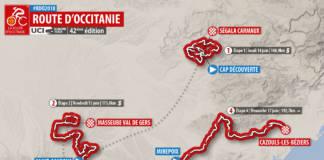 Parcours complet Route d'occitanie 2018