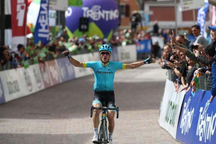 Pello Bilbao vainqueur étape 1 Tour des Alpes 2018