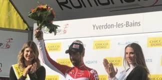 Thomas De Gendt réaction victoire étape 2 Tour de Romandie 2018