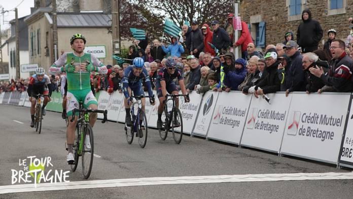 Tony Hurel remporte 3e étape Tour de Bretagne 2018